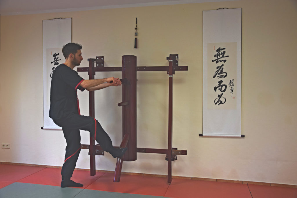 Wing Chun Holzpuppe